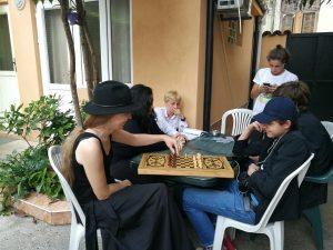 Meeting with the Batumi community.